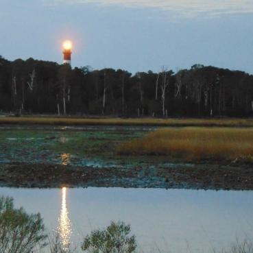 Assateauge Lighthouse pre dawn